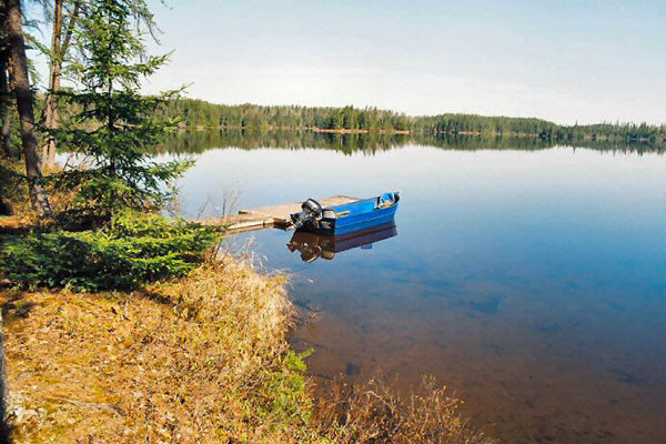 Boat and motor rentals for fishing.