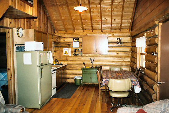 Housekeeping Cottages, Log Cabins, Fully furnished.