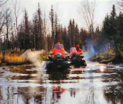 Hundreds of miles of ATV trails of varied terrain.