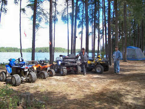 Ride ATV trails at Argyle Lake Lodge!