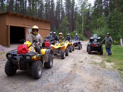 Gas up your ATV, get refreshments and snacks!